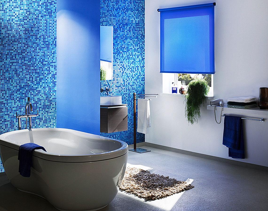 Рулонные шторы для ванной
