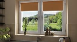 Виды рулонных штор для пластиковых окон