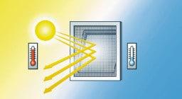Солнцезащитные москитные сетки