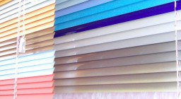 Цветные горизонтальные жалюзи