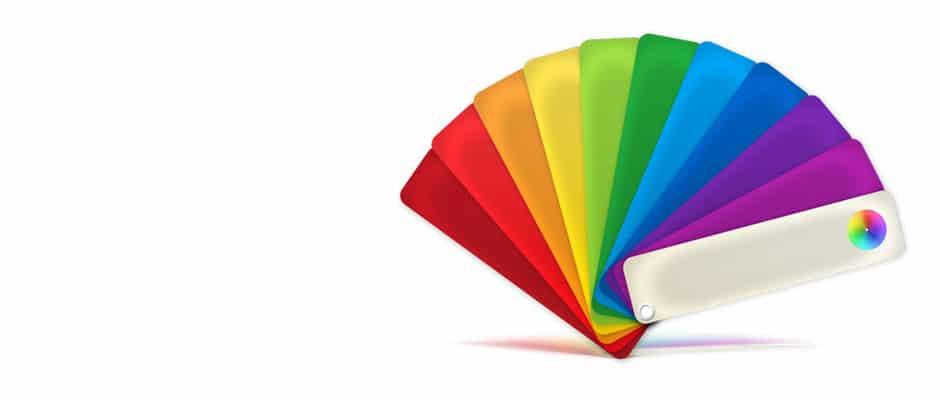 Цветовая палитра кухонных жалюзи