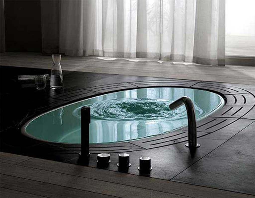 Ванная в стиле High-Tech
