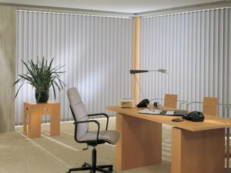 Вертикальные жалюзи для офиса