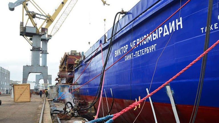рулонные шторы для ледокола Виктор Черномырдин