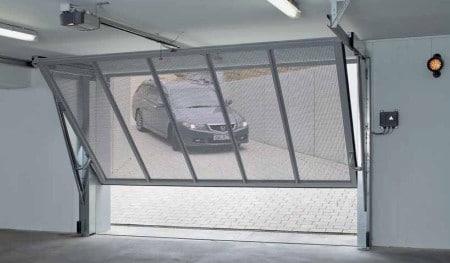 Ворота для паркинга