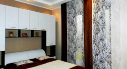 Японские шторы в спальню