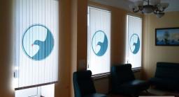 Жалюзи с логотипом — современные тенденции оформления офисов