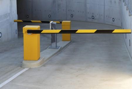 Автоматический шлагбаум в паркинг