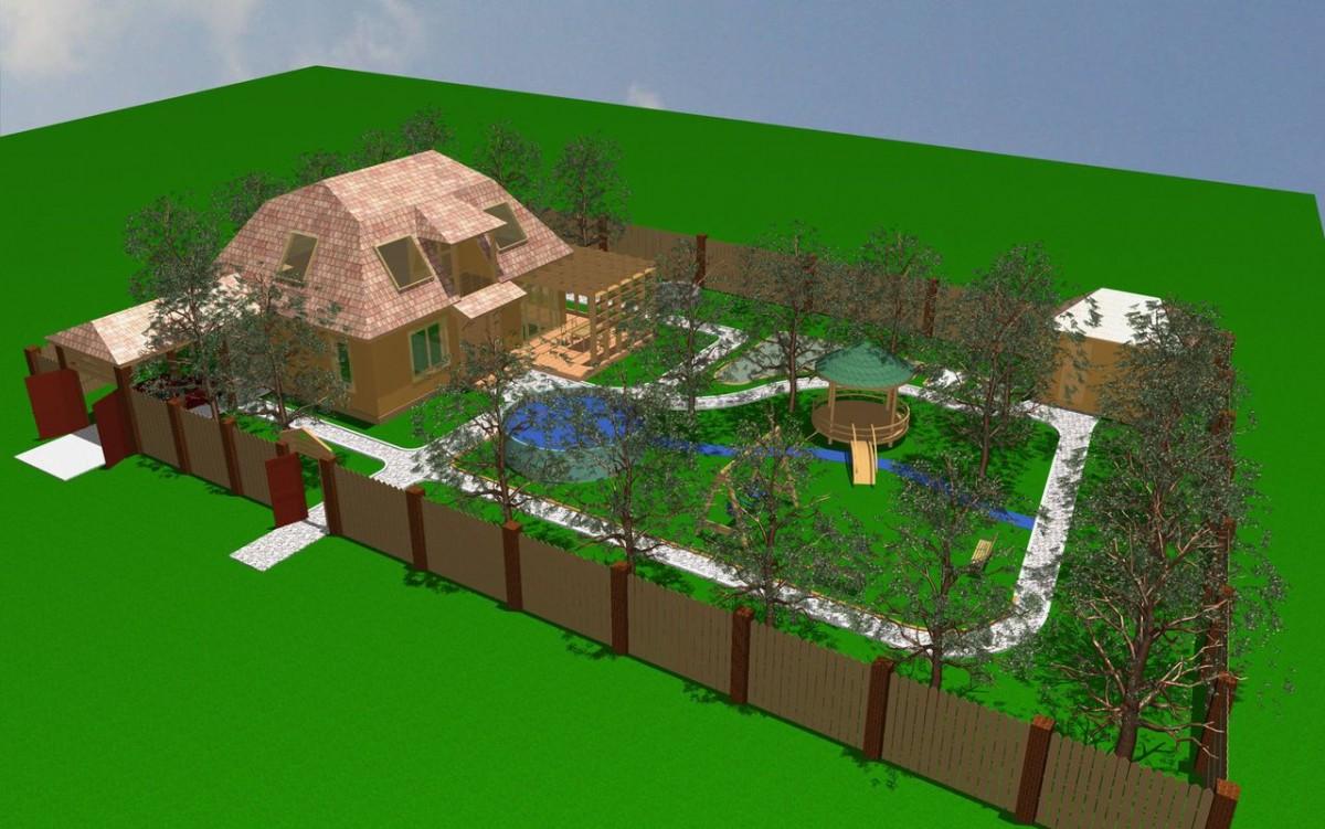 дизайн земельных участков