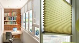 Рулонные шторы на лоджию — надежная защита балкона от солнца