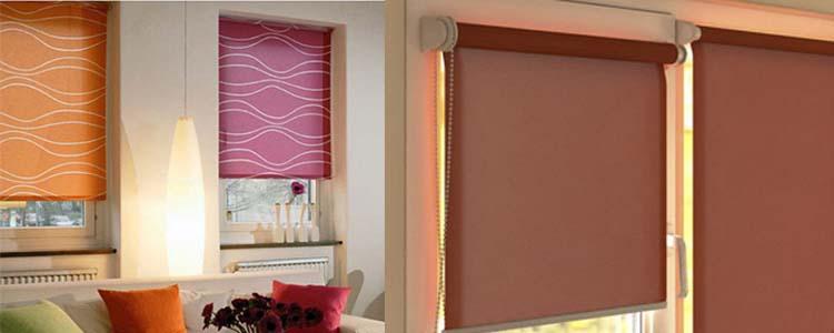 рулонные шторы изготовление материал ткань