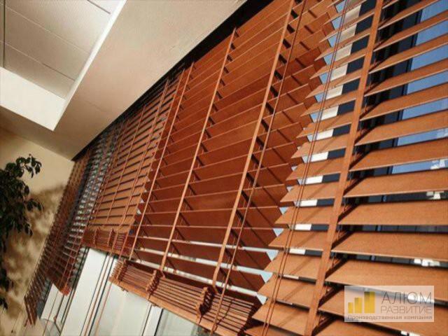 как установить жалюзи на балкон