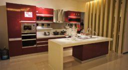 кухни в стиле хай тек