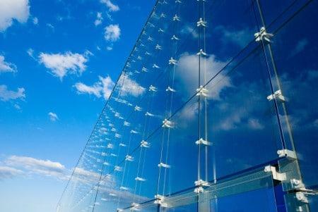Стеклянные фасады, Стеклянные отделочные материалы