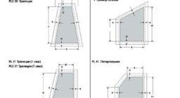 потолочные шторы плиссе замеры