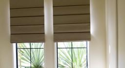 Римские рулонные шторы
