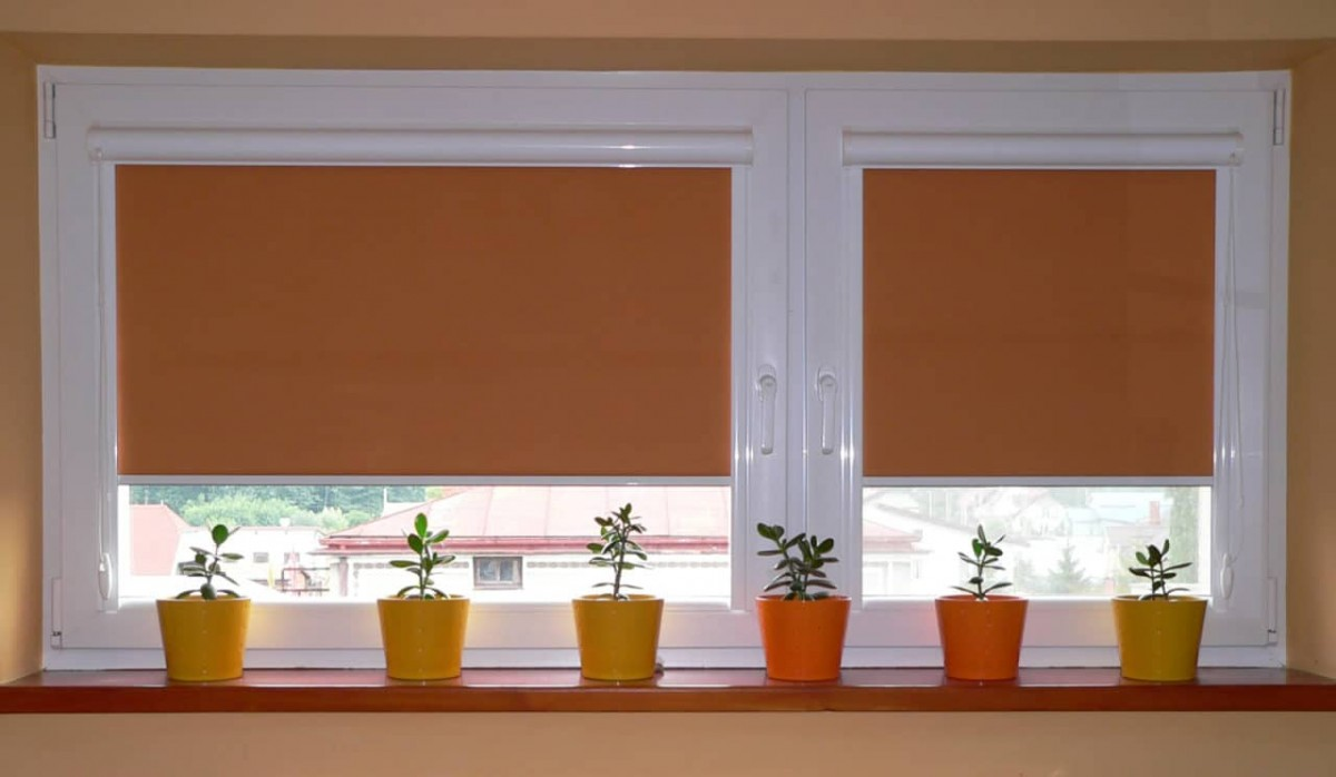 рулонные шторы на окна