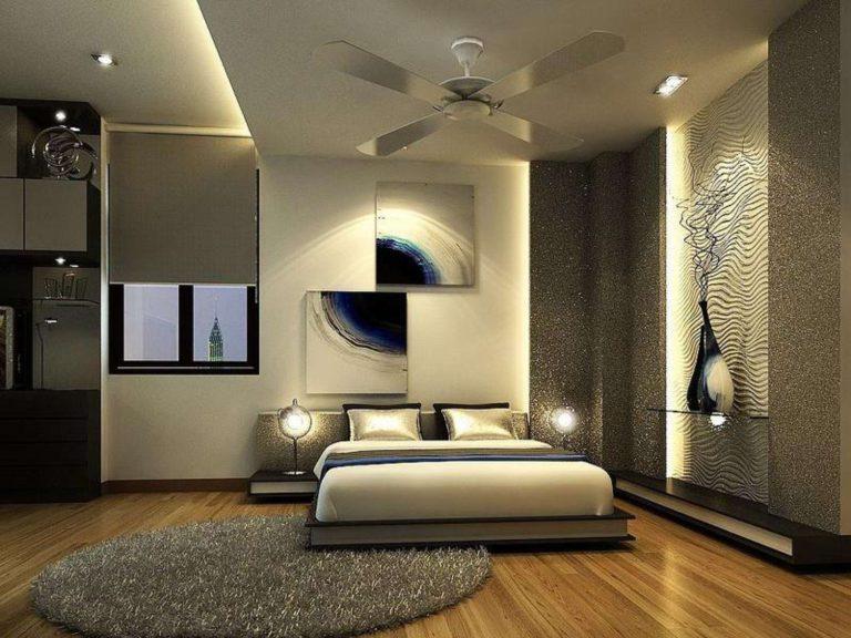 современной и уютной спальни