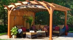 Пергола для вашего сада. Стили и виды пергол