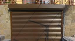 уличные рулонные ворота