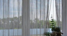 веревочные вертикальные жалюзи